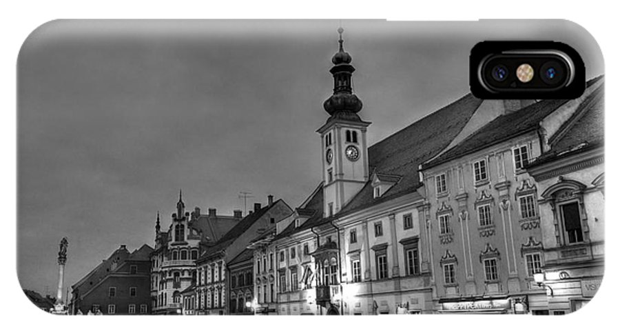 Architecture IPhone X Case featuring the photograph Maribor by Ivan Slosar