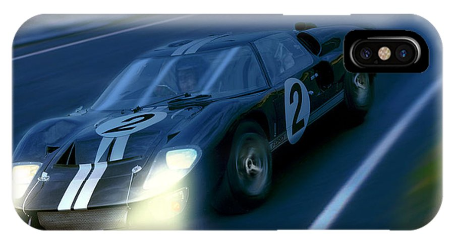 Ford IPhone X / XS Case featuring the photograph Mark II At Night by Craig Purdie