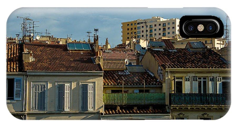 France IPhone X Case featuring the photograph Marseilles Houses by Oleg Koryagin