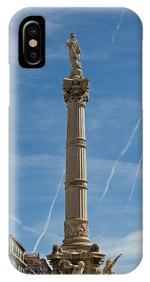 France IPhone X Case featuring the photograph Marseilles Monument by Oleg Koryagin
