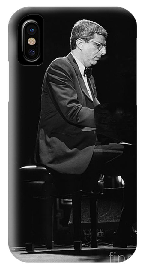 Composer IPhone X Case featuring the photograph Marvin Hamlisch by Concert Photos