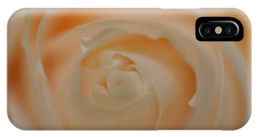 Flower IPhone X Case featuring the photograph Master Of Beauty by Teri Schuster
