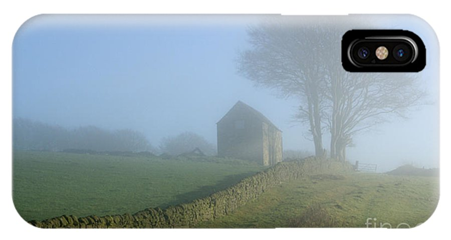Mist IPhone X Case featuring the photograph Matlock Mist by David Birchall