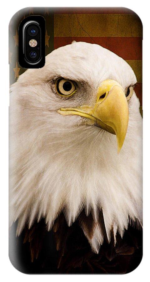 May Your Heart Soar Like An Eagle IPhone X Case featuring the photograph May Your Heart Soar Like An Eagle by Jordan Blackstone