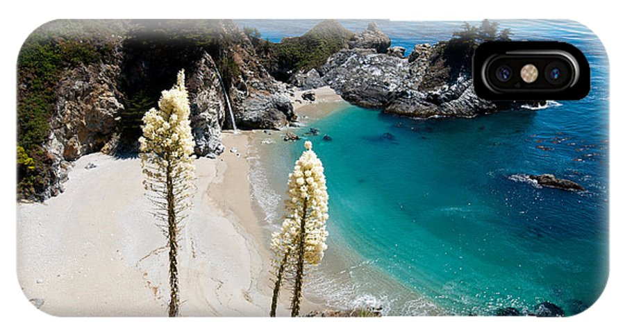 Mcway IPhone X Case featuring the photograph Mcway Falls by Bradley Bennett