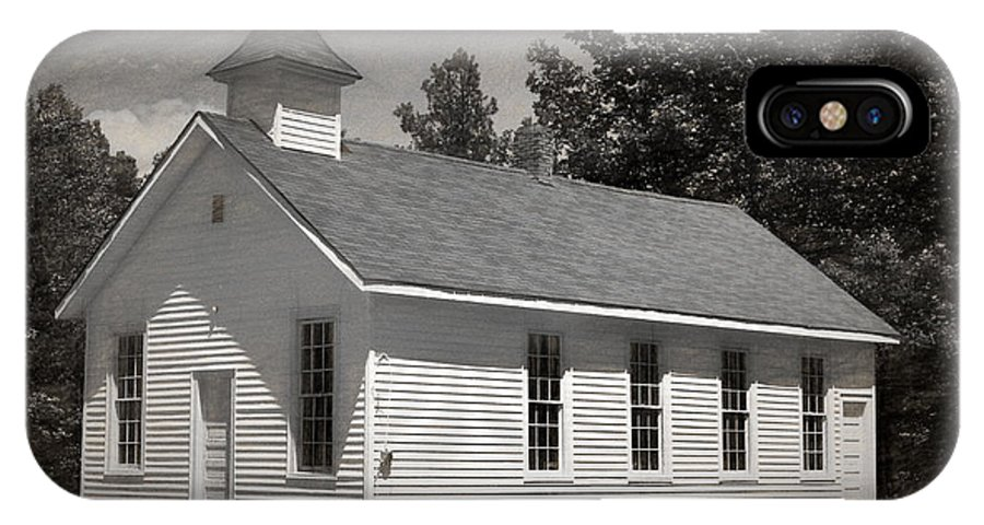 Abandoned IPhone Case featuring the photograph Meeting House by Richard Rizzo