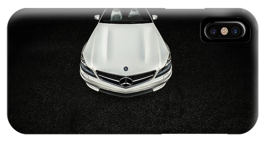 Car IPhone X Case featuring the photograph Mercedes Benz by Vardan Petrosyan