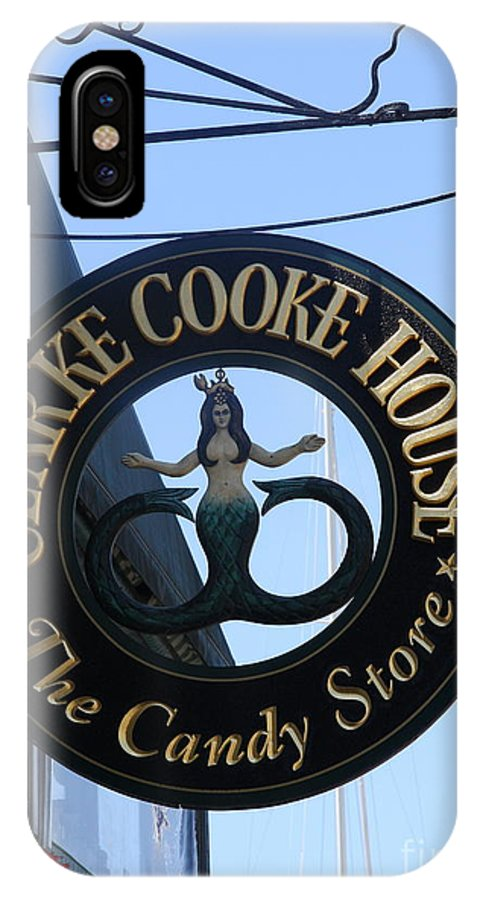 Mermaid IPhone X Case featuring the photograph Mermaid Candy by Christiane Schulze Art And Photography