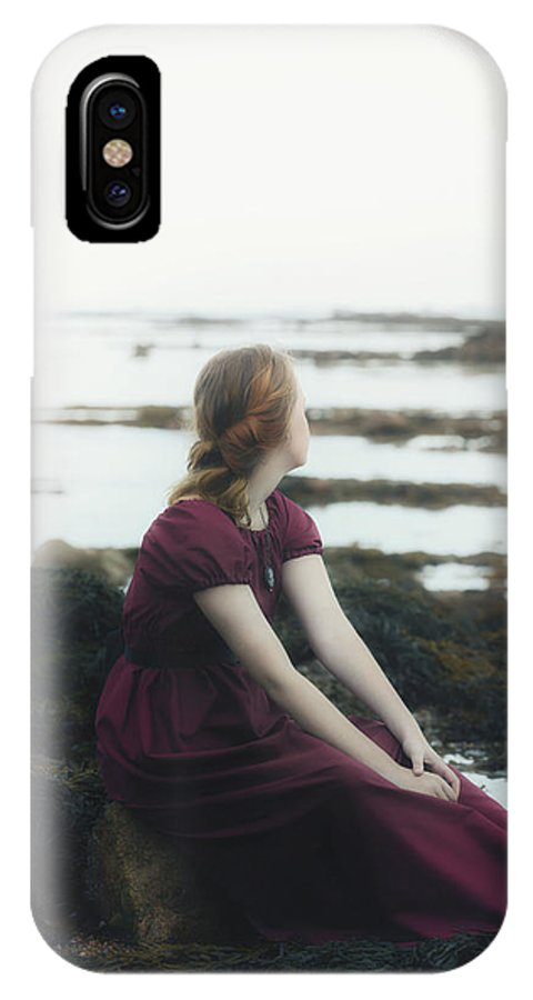 Girl IPhone X Case featuring the photograph Mermaid by Joana Kruse