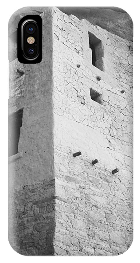 Mesa Verde National Park Cliff Dwelling IPhone X / XS Case featuring the photograph Mesa Verde National Park Cliff Dwelling by American Classic Visions Gallery