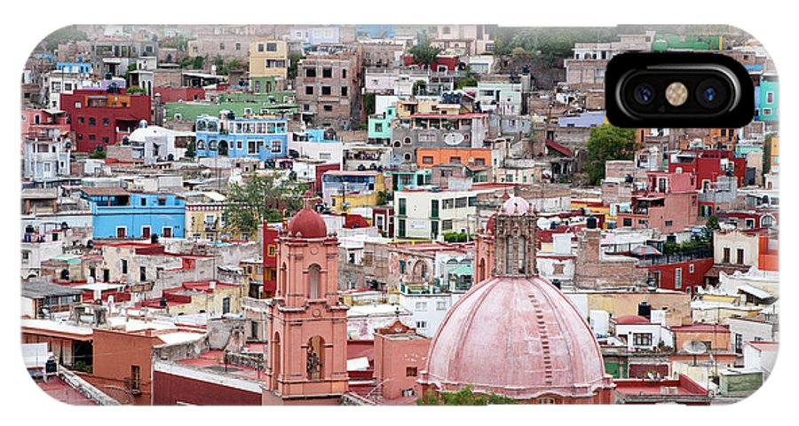 Architecture IPhone X Case featuring the photograph Mexico, Guanajuato, View Of Guanajuato by Hollice Looney