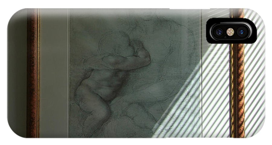 Michelangelo IPhone X Case featuring the photograph Michelangelo by Dragan Kudjerski