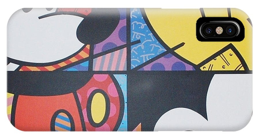 Mickey Mouse IPhone X / XS Case featuring the photograph Mickey by Rob Hans