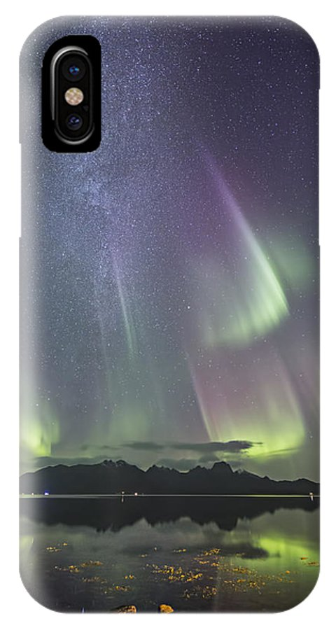 Frank Olsen IPhone X / XS Case featuring the photograph Milky Way by Frank Olsen