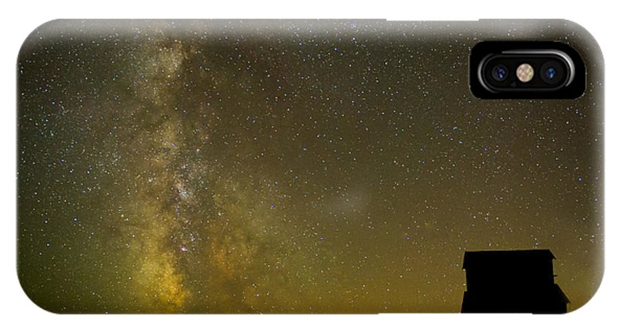 Milky Way IPhone X Case featuring the photograph Milky Way Lights The Way. by Jackie Follett