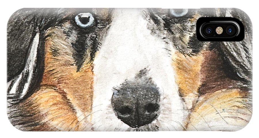 Miniature Australian Shepherd IPhone X Case