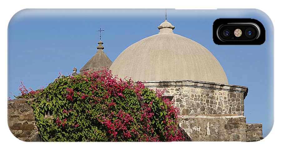 Mission IPhone X Case featuring the photograph Mission San Jose 1 by Susan Rovira