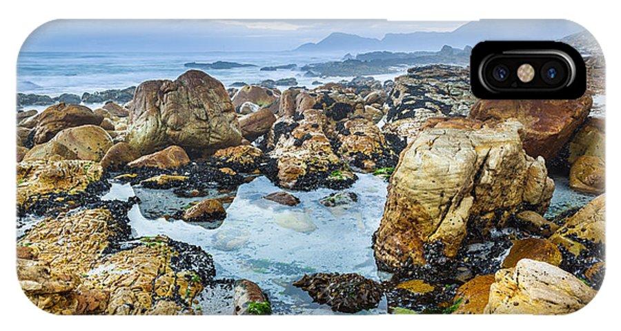 Pruskova IPhone X Case featuring the photograph Misty Cliffs Iv by Katka Pruskova
