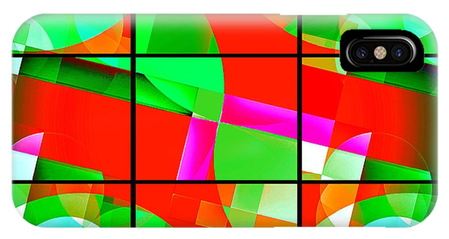 Geometric Art IPhone X Case featuring the photograph Mod 142 by Aurelio Zucco