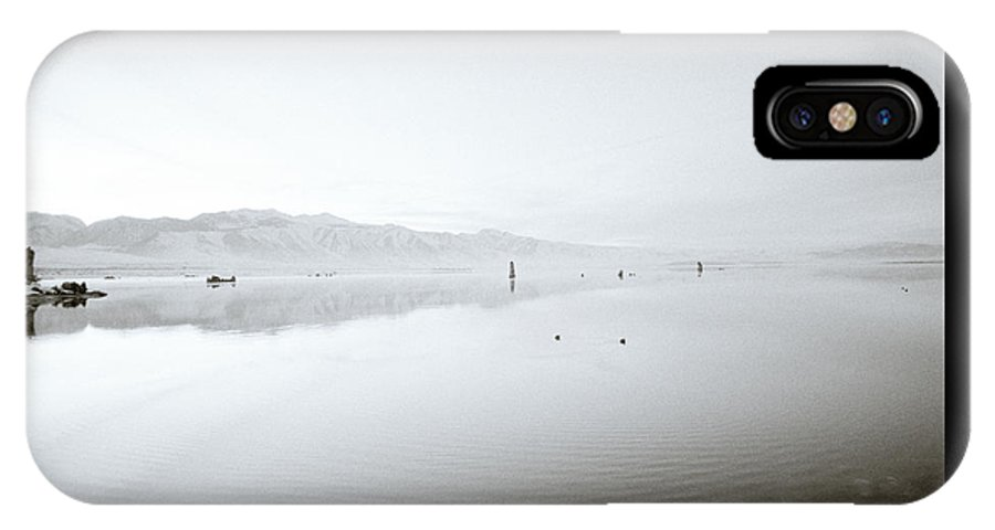 Inspiration IPhone X Case featuring the photograph Mono Lake Serenity by Shaun Higson