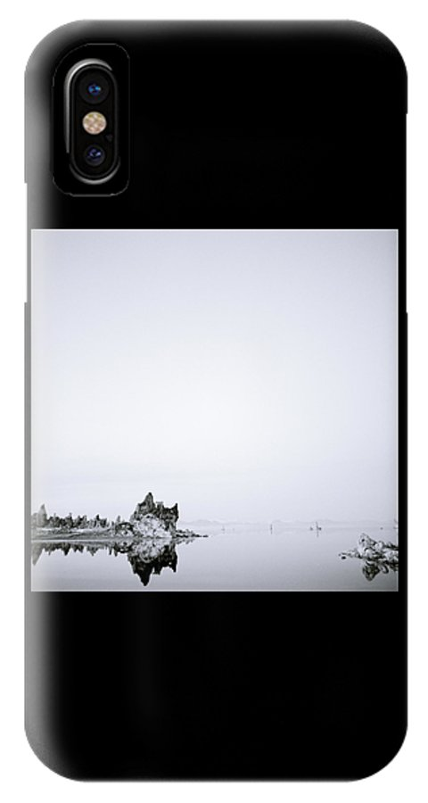 Mono Lake IPhone X Case featuring the photograph Still Waters Run Deep by Shaun Higson