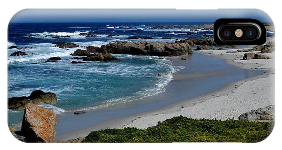 Monterey IPhone X Case featuring the photograph Monterey-1 by Dean Ferreira