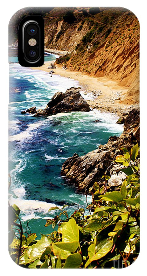 Landscape IPhone X Case featuring the photograph Monterey by Steven Baier