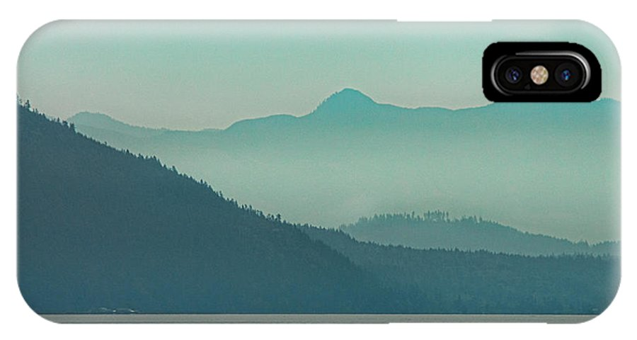 Moody IPhone X Case featuring the photograph Moods Of Pugeot Sound by Kasandra Sproson