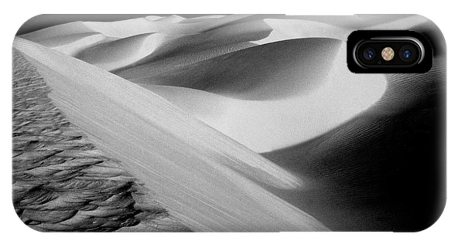 Sand Dunes IPhone X Case featuring the photograph Moon Light Dunes by Paul W Faust - Impressions of Light