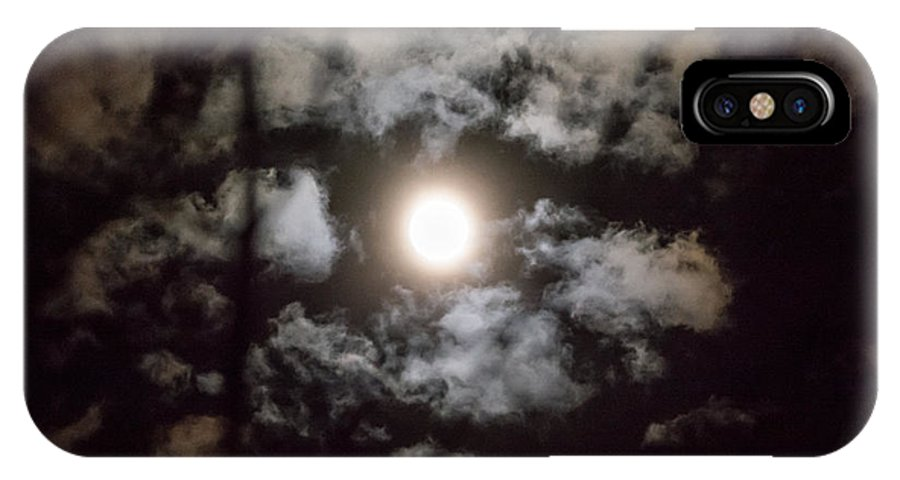 IPhone X Case featuring the photograph Moonlight by Cheryl Baxter