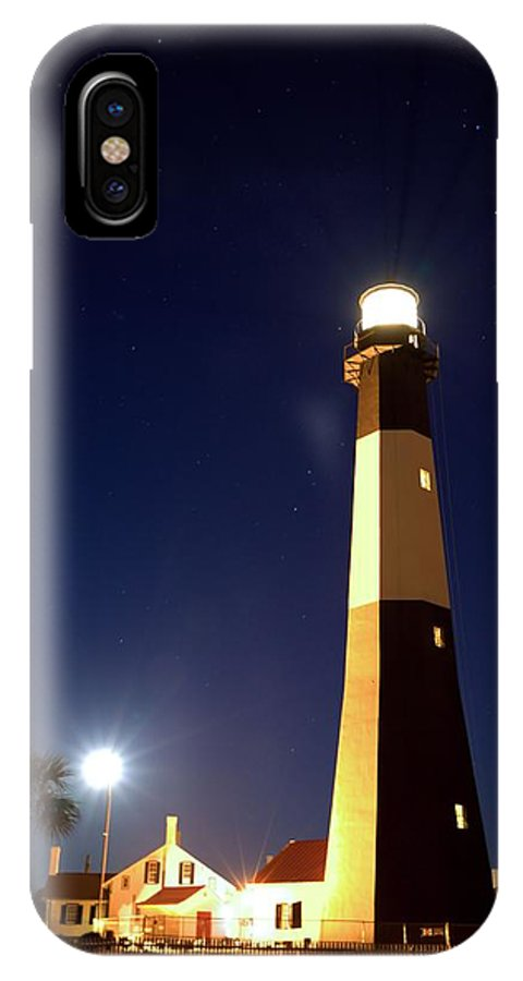 9426 IPhone X Case featuring the photograph Moonrise On Tybee Island by Gordon Elwell