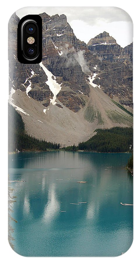 Moraine IPhone X Case featuring the photograph Moraine Lake - Alberta - Canada by RicardMN Photography