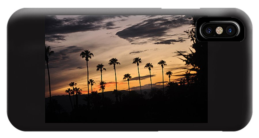 Morning Sky IPhone X Case featuring the photograph Morning Awakens by Jay Milo