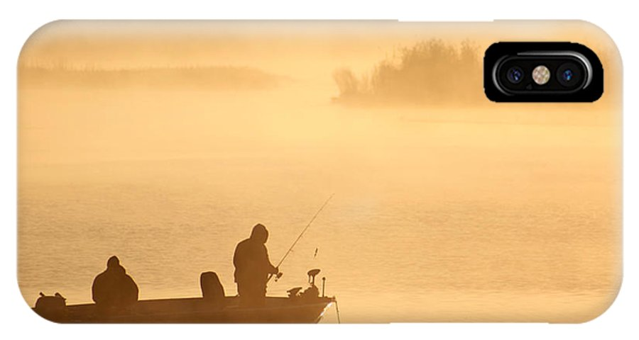 Morning IPhone X Case featuring the photograph Morning Cast 1 by Allan Lovell