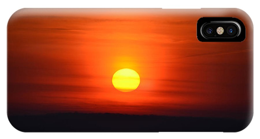 Morning IPhone X Case featuring the photograph Morning Comes A New Day by Bill Cannon