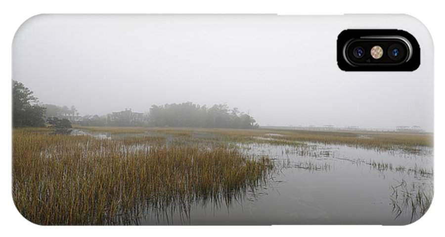 Fog IPhone X Case featuring the photograph Morning Fog by Dale Powell