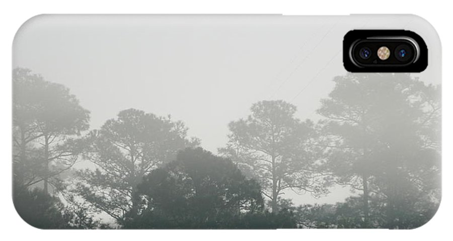 Morning IPhone X Case featuring the photograph Morning Mist 4 by George Pedro