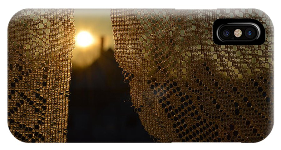 Morning IPhone X Case featuring the photograph Morning Sunshine by Beverly Shelby