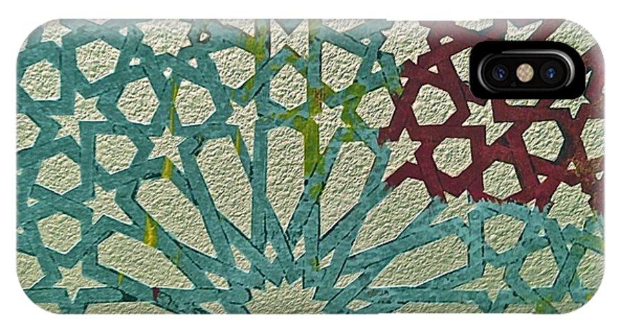 Moroccan Tile Design Iphone X Case For Sale By Karim Baziou