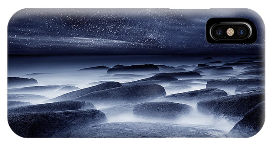 Night IPhone X Case featuring the photograph Morpheus Kingdom by Jorge Maia