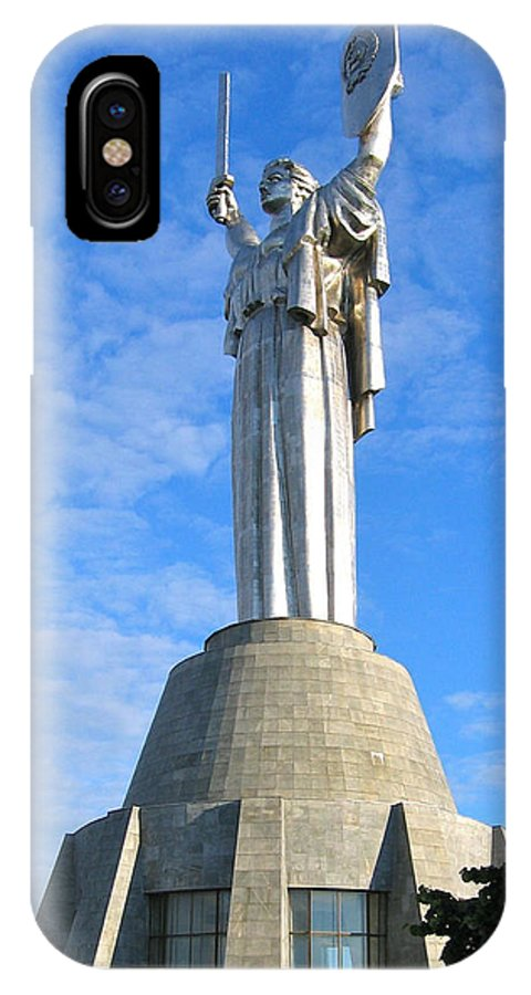 Mother IPhone X Case featuring the photograph Mother Of The Motherland by Bob Parr