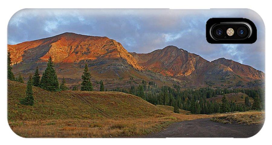 Mount Owen IPhone X / XS Case featuring the photograph Mount Owen Sunrise by Kelly Black