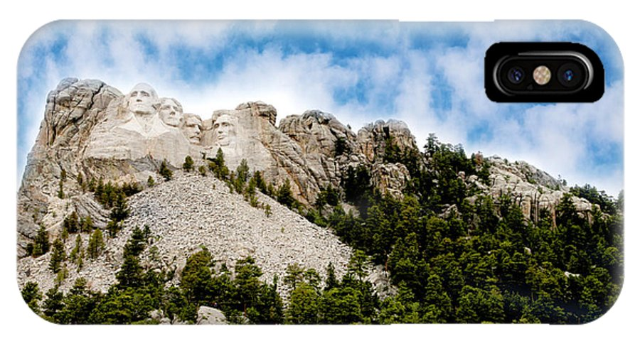 Mt. Rushmore IPhone X Case featuring the photograph Mount Rushmore by Erika Weber