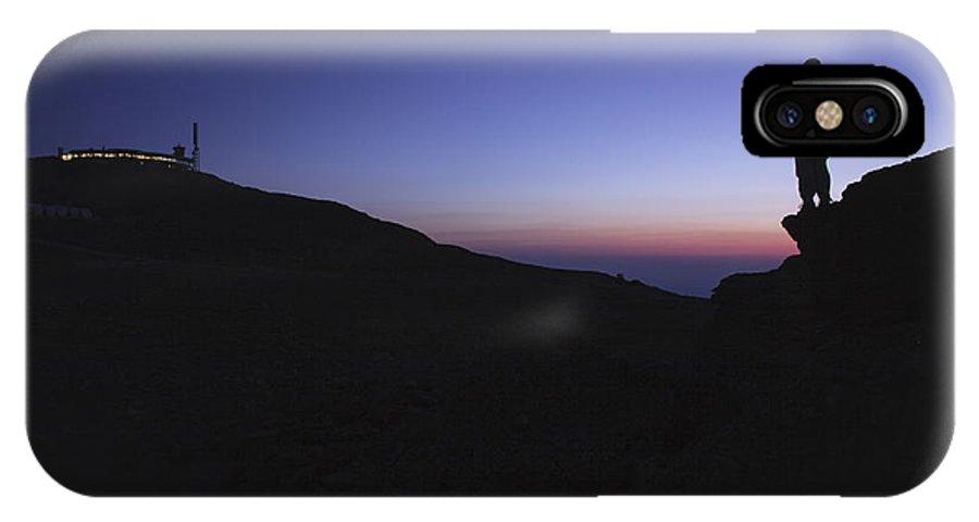 Mount Washington IPhone X Case featuring the photograph Mount Washington - New Hampshire Usa by Erin Paul Donovan