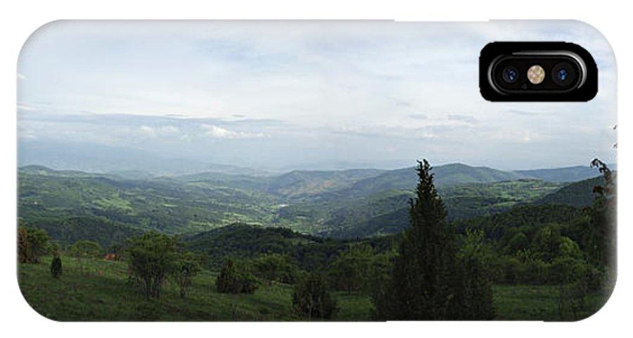 Beauty IPhone X Case featuring the photograph Mountain Landscape by Zoran Berdjan
