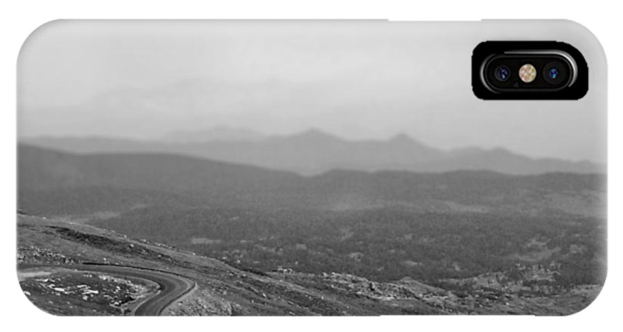 Mountain IPhone X Case featuring the photograph Mountain Road by Stephanie Thomson