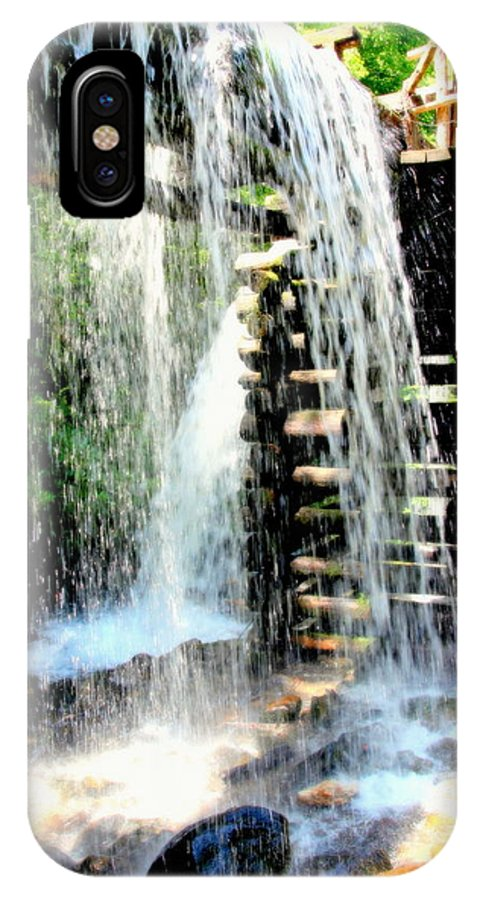 Mingus Mill IPhone X Case featuring the photograph Mountain Waters by Karen Wiles