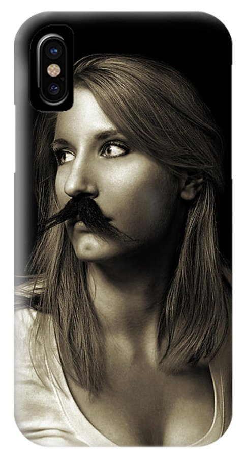 Movember IPhone X Case featuring the photograph Movember Nineteenth by Ashley King