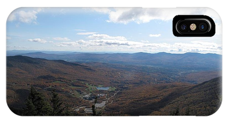 Mountain IPhone X Case featuring the photograph Mt Mansfield Looking East by Barbara McDevitt