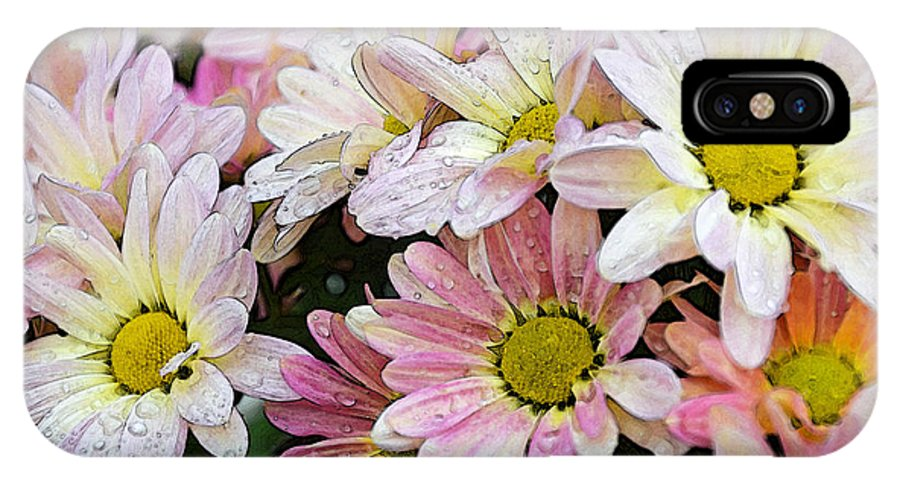 Mum IPhone X Case featuring the photograph Mums 1 by Susan McMenamin